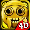 Stickman Run 4D - Gold Edition icon