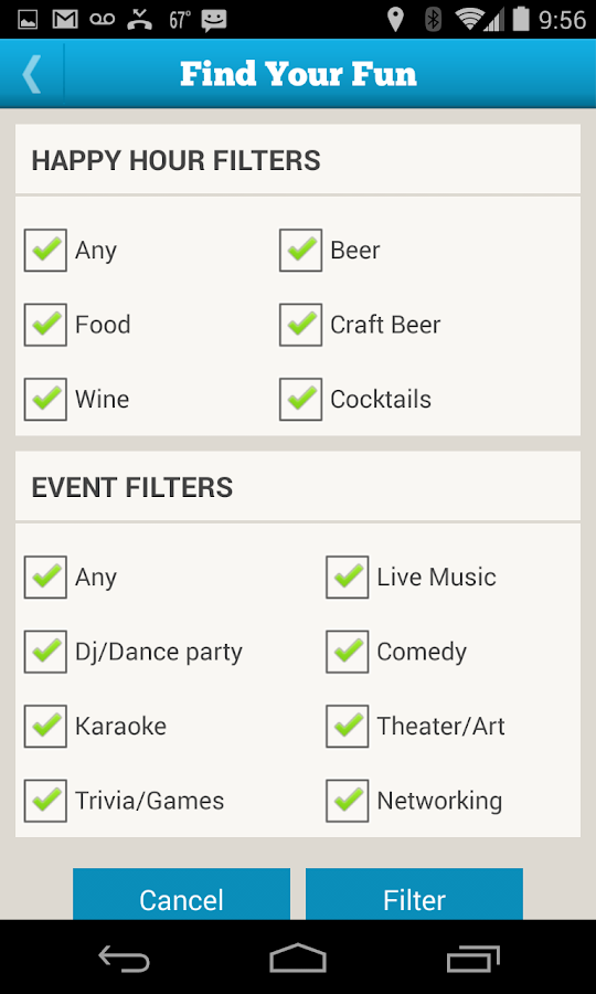 Happy Hour Now Thrifty Hipster- screenshot