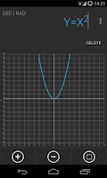 Screenshot of Calculator Holo Dark Theme