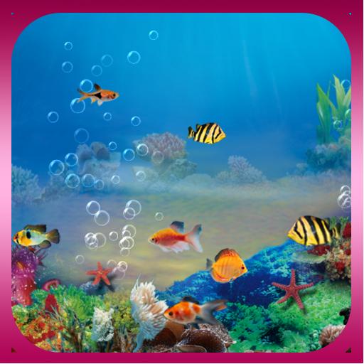 水族馆动态壁纸(Free&Pro) 個人化 App LOGO-APP試玩