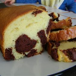 Light Marble Pound Cake