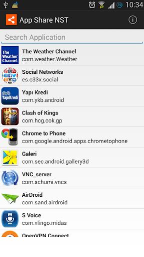App Share NST