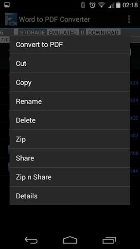【免費商業App】Word to PDF Converter Pro-APP點子
