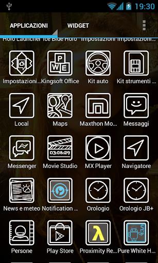 KitKat White Holo - Free Icons