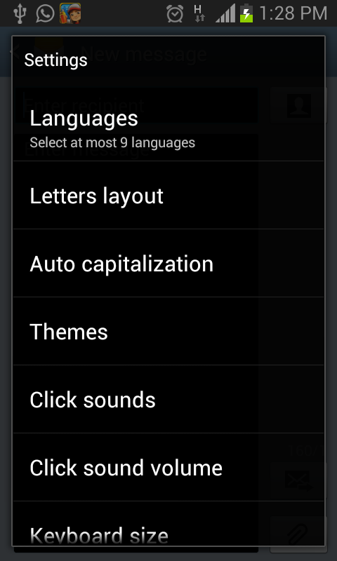 Keyboard-Relief 3.1 - screenshot