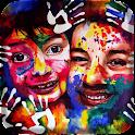 Holi Colorful Live wallpaper logo