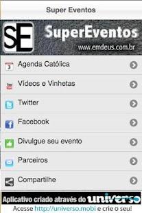 Super Eventos Católicos - screenshot thumbnail