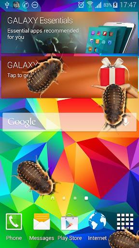 在手機好笑的笑話蟑螂