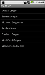 Oregon Winery Finder- screenshot thumbnail