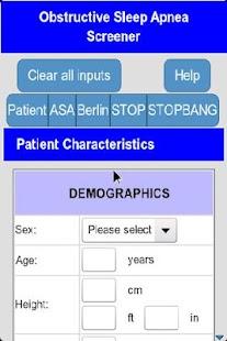 Sleep Apnea Screener