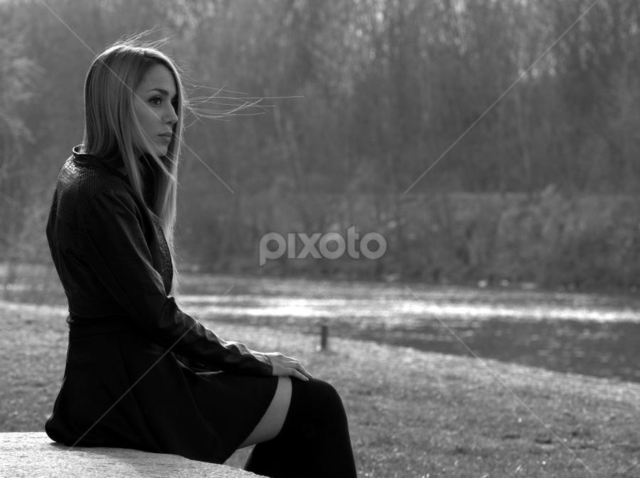 by Laurentiu Victor Ciora - Black & White Portraits & People