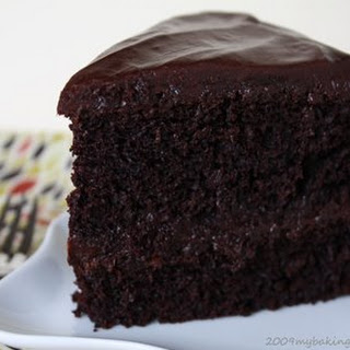Black Magic Cake.