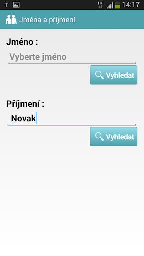 Jména a příjmení