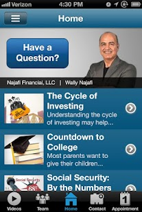 Najafi Financial- screenshot thumbnail