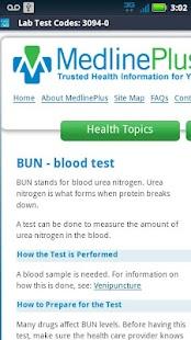 Medical Codes- screenshot thumbnail