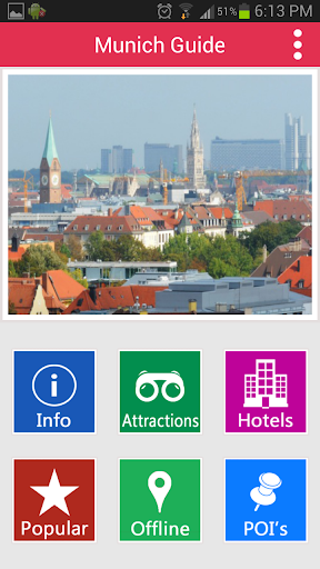 Munich Offline Guide