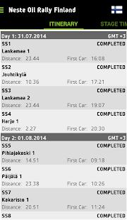 WRC – The Official App- screenshot thumbnail