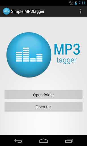 Simple MP3tagger
