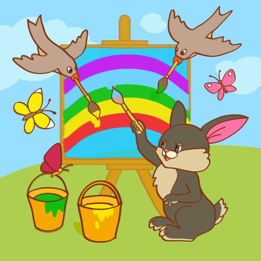 為孩子的學習顏色 LOGO-APP點子