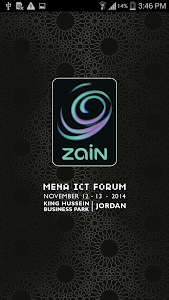 Zain MENA ICT 2014 screenshot 0