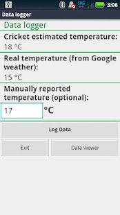 Cricket Thermometer - screenshot thumbnail