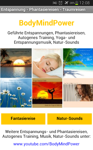 Fantasiereise und Natur-Sounds