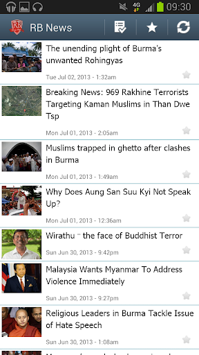 【免費新聞App】RB News | Rohingya Blogger-APP點子