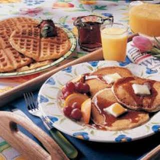 Pancake and Waffle Mix.