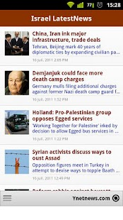 Israel Breaking News - screenshot thumbnail