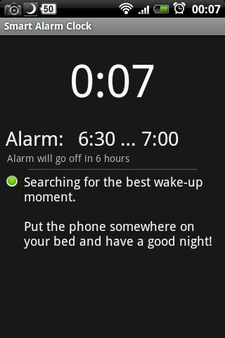 Smart Alarm Clock - screenshot
