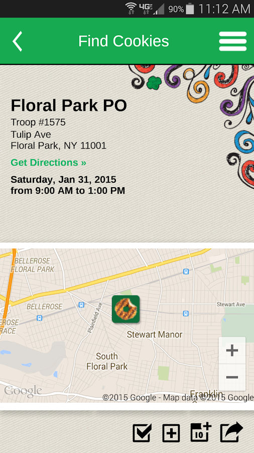 Girl Scout Cookie Finder - screenshot
