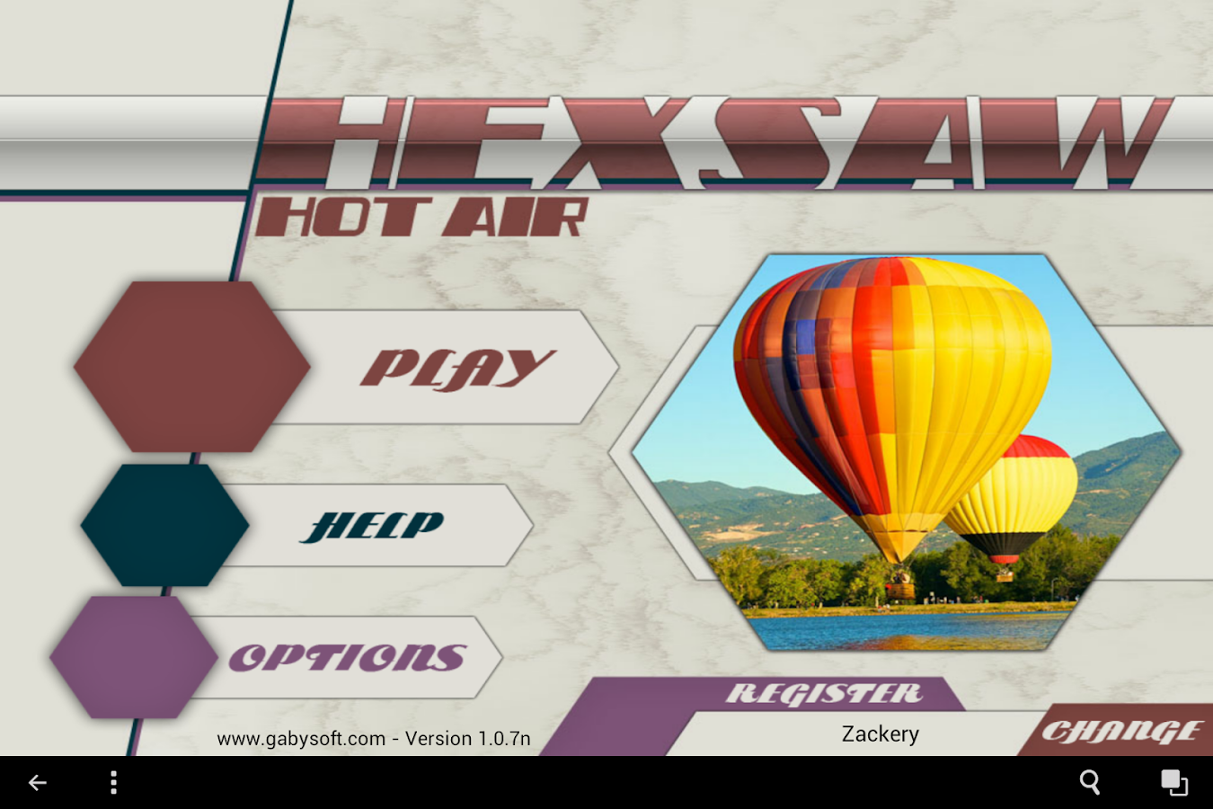 HexSaw - Hot Air- screenshot