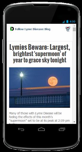 The Lyme Disease Blog