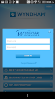 Screenshot of Wyndham