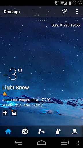 Lithuanian Language GO Weather