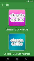 Screenshot of Cheats - GTA 5