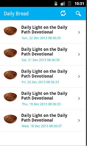 Daily Bread Android APP
