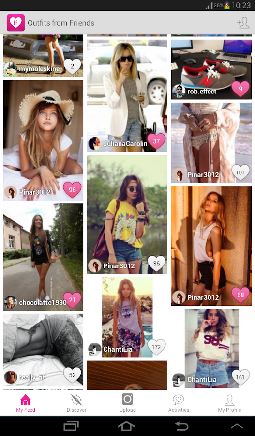 Fashion Freax Street Style App - screenshot