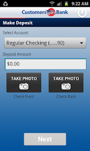 Customers Bank Mobile Banking - screenshot thumbnail