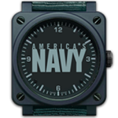 US NAVY ANALOG CLOCK WIDGET