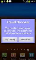 Screenshot of Travel Snoozer