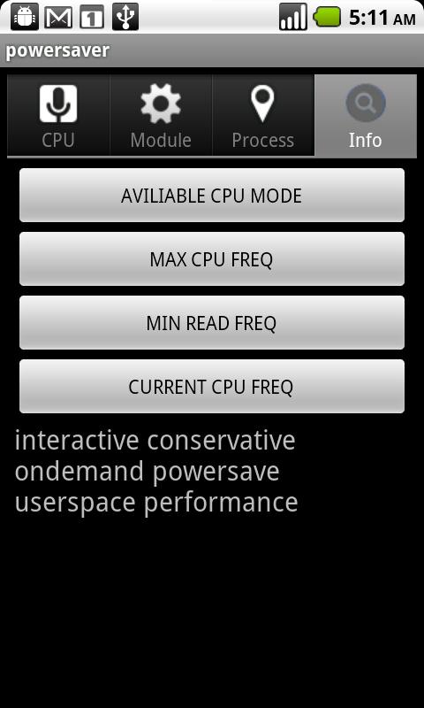 Power saver  advanced - screenshot