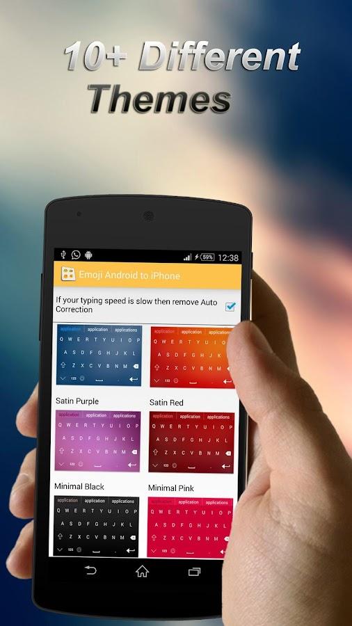 Emoji keyboard for Android - screenshot