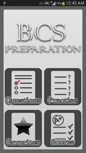 BCS Preperation