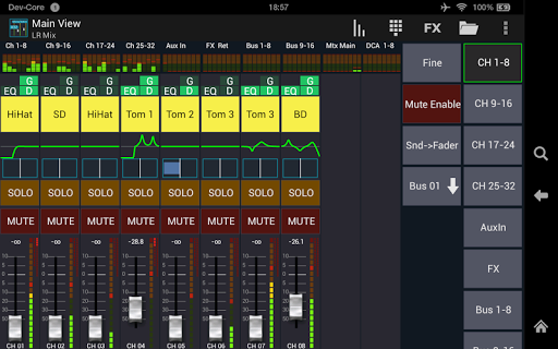 Screenshot for Mixing Station XM32 Pro in United States Play Store