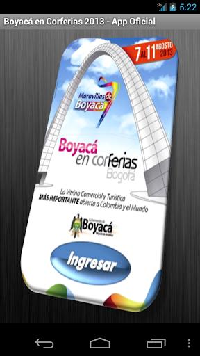 Boyacá en Corferias 2013