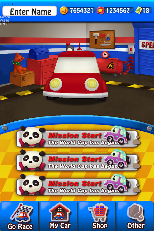 Funky Racer (S.E.A) for Kakao - screenshot