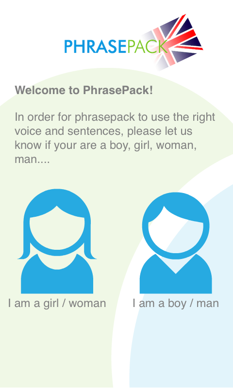 Learn English (UK) Phrasebook - screenshot