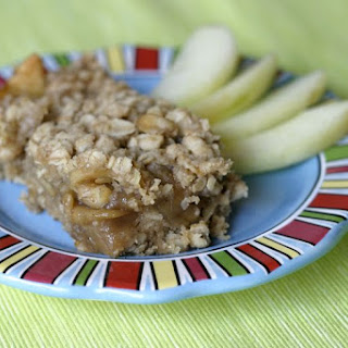 Oatmeal Apple Pie Bars