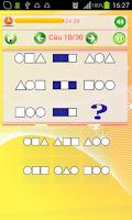 Screenshot of Kiểm Tra IQ